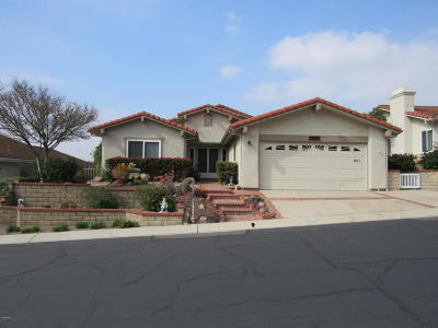 Camarillo Single Family Home Active Under Contract: 1161 Itamo Street