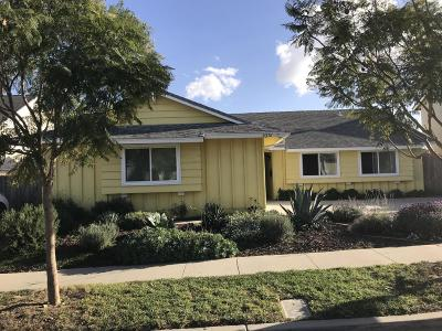 Ventura Single Family Home For Sale: 8276 Balboa Street