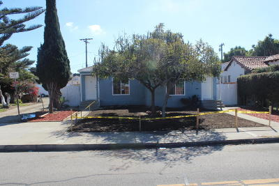 Oxnard Multi Family Home For Sale: 626 W 5th Street