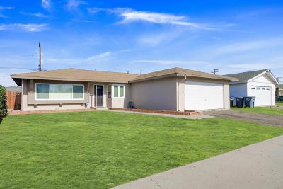 Oxnard Single Family Home For Sale: 1345 Spruce Street