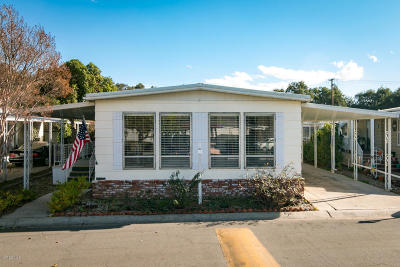 Ojai Mobile Home For Sale: 950 Woodland Avenue #110