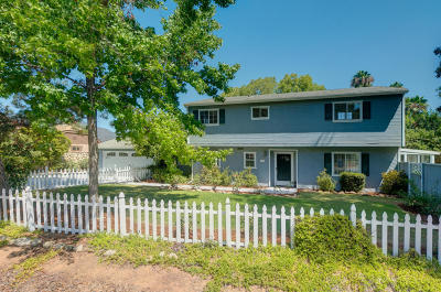 Ojai CA Single Family Home For Sale: $709,000