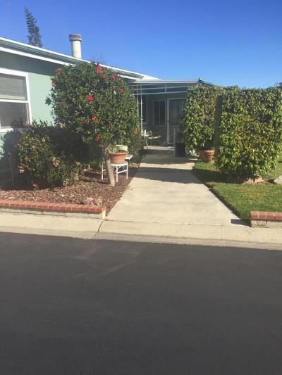 Camarillo Mobile Home Active Under Contract: 81 Margarita Avenue #5