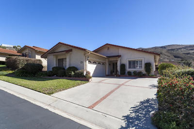 Camarillo Single Family Home Active Under Contract: 1128 Paquita Street