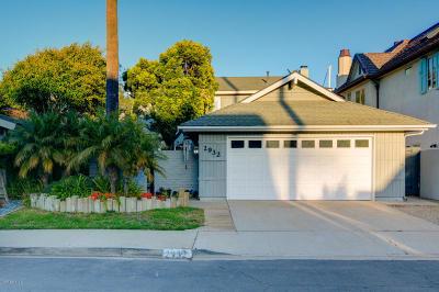 Ventura Single Family Home For Sale: 2932 Seahorse Avenue