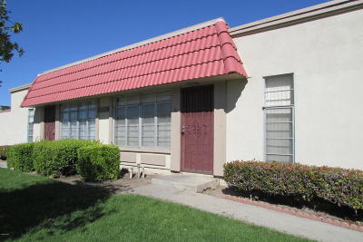 Oxnard Single Family Home For Sale: 2941 W Hemlock Street E #B