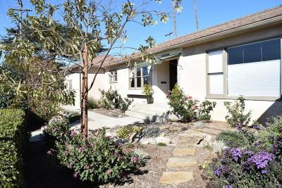 Ventura Single Family Home For Sale: 3699 Loma Vista Road
