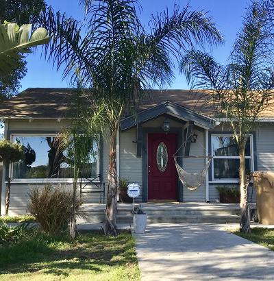 Santa Paula Single Family Home Active Under Contract: 618 13th Street