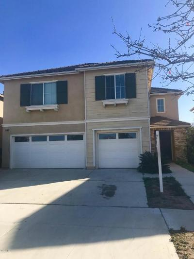 Oxnard Single Family Home For Sale: 1630 Rubio Circle