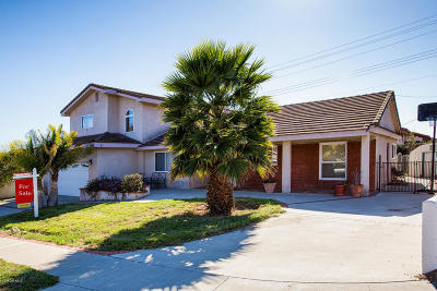Ventura Single Family Home For Sale: 393 Imperial Avenue