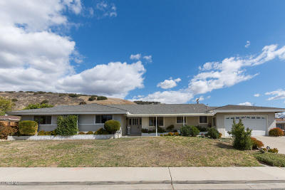 Fillmore Single Family Home Active Under Contract: 624 Island View Street