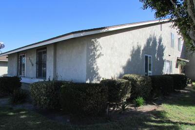 Oxnard CA Single Family Home For Sale: $235,000