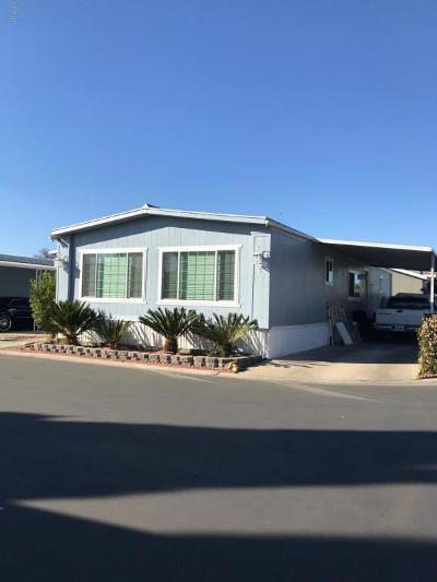 Camarillo Mobile Home For Sale: 80 Via Gabilan