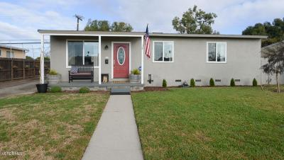 Port Hueneme Single Family Home Active Under Contract: 1061 Evergreen Lane
