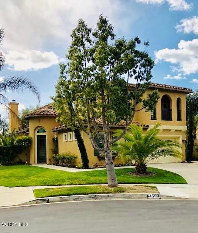 Camarillo Single Family Home Active Under Contract: 4590 Calle Covina