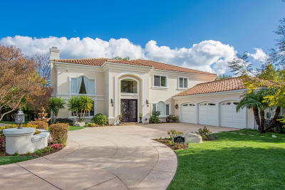 Westlake Village Single Family Home For Sale: 3905 Cresthaven Drive