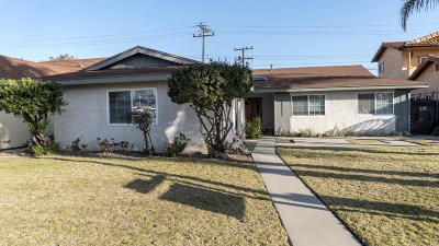 Oxnard Single Family Home Active Under Contract: 1211 Devonshire Drive
