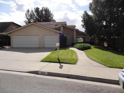 Camarillo Rental For Rent: 2324 Parkway Drive