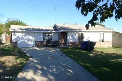 Camarillo Single Family Home Active Under Contract: 324 Mission Drive