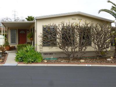 Ventura Mobile Home Active Under Contract: 210 Pollock Lane #210