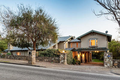 Ojai Single Family Home For Sale: 4158 Grand Avenue