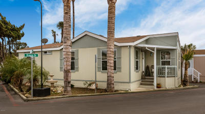 Ventura Mobile Home Active Under Contract: 2020 Oregon Drive