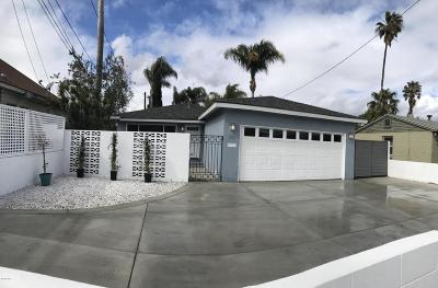 Santa Paula Single Family Home For Sale: 737 W Harvard Boulevard