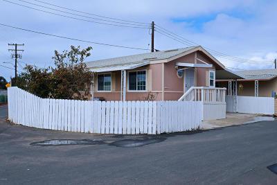 Oxnard Mobile Home Active Under Contract: 4187 Moreno Lane #4187