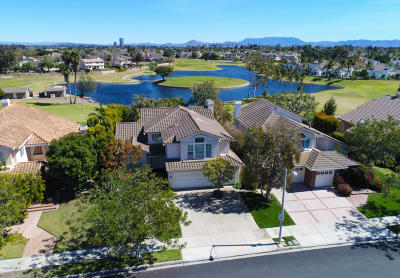 Oxnard Single Family Home Active Under Contract: 2222 Pebble Beach Trail