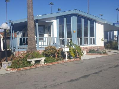 Ventura Mobile Home Active Under Contract: 1215 Anchors Way Drive #114