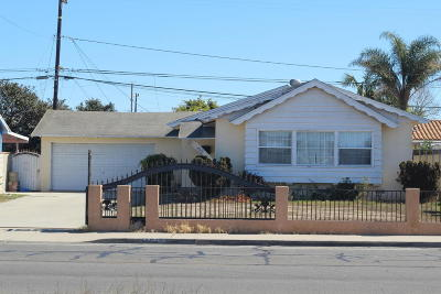 Oxnard Single Family Home Active Under Contract: 4510 S C Street