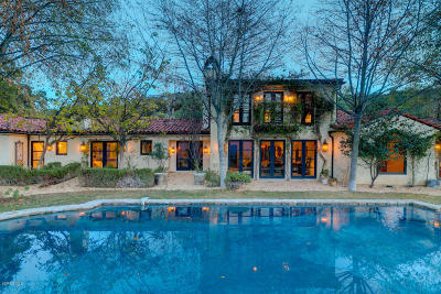 Ojai Single Family Home Active Under Contract: 11220 Sulphur Mountain Road