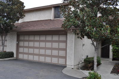Ventura Single Family Home For Sale: 2346 Mohican Lane