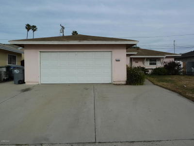 Oxnard Single Family Home Active Under Contract: 3550 S F Street