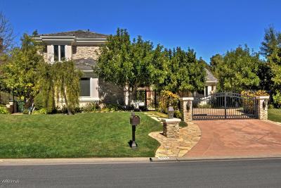 Westlake Village Single Family Home For Sale: 3957 Cresthaven Drive