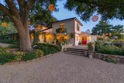 Ojai Single Family Home For Sale