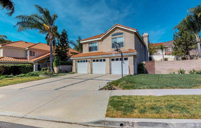 Simi Valley Single Family Home Active Under Contract: 595 Fresh Meadows Road
