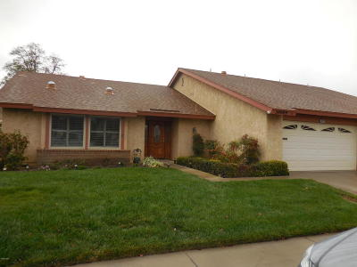 Camarillo Single Family Home Active Under Contract: 38009 Village 38