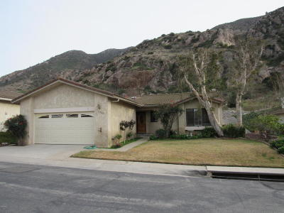 Camarillo Single Family Home For Sale: 6206 Gitana Avenue
