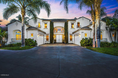 Camarillo Single Family Home Active Under Contract: 5416 Castillo De Rosas