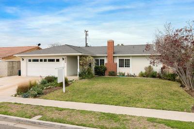 Camarillo Single Family Home For Sale: 1589 Wolverton Avenue