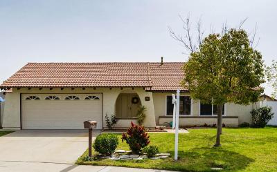 Camarillo Single Family Home For Sale: 2772 Via Del Nogal
