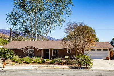 Ojai CA Single Family Home Active Under Contract: $725,000