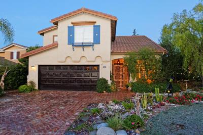 Newbury Park Single Family Home For Sale: 672 Camino De La Luna