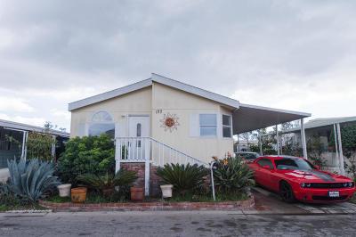 Oxnard Mobile Home For Sale: 1101 E Ventura Boulevard #177