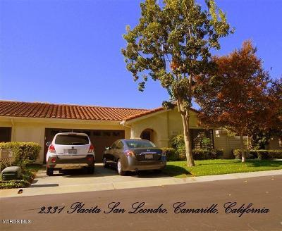 Camarillo Rental For Rent: 2331 Placita San Leandro