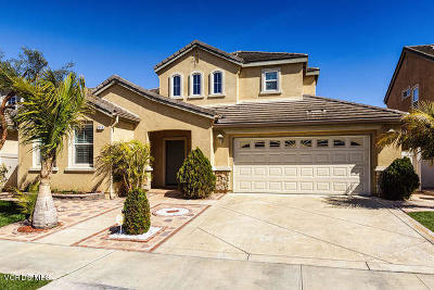 Oxnard Single Family Home For Sale: 1246 Fuente Drive