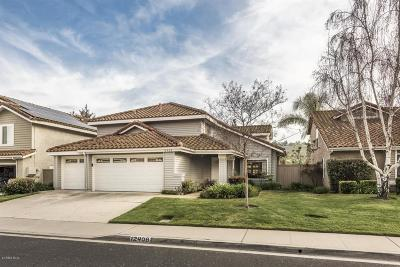 Moorpark Single Family Home For Sale: 12408 Willow Spring Drive