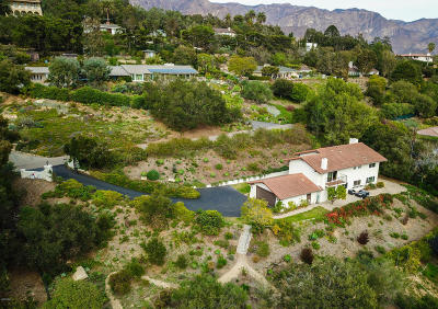 Santa Barbara Single Family Home For Sale: 751 Skyview Drive