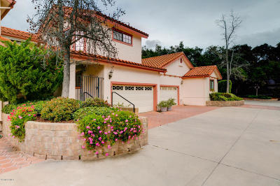 Ojai CA Single Family Home For Sale: $649,000